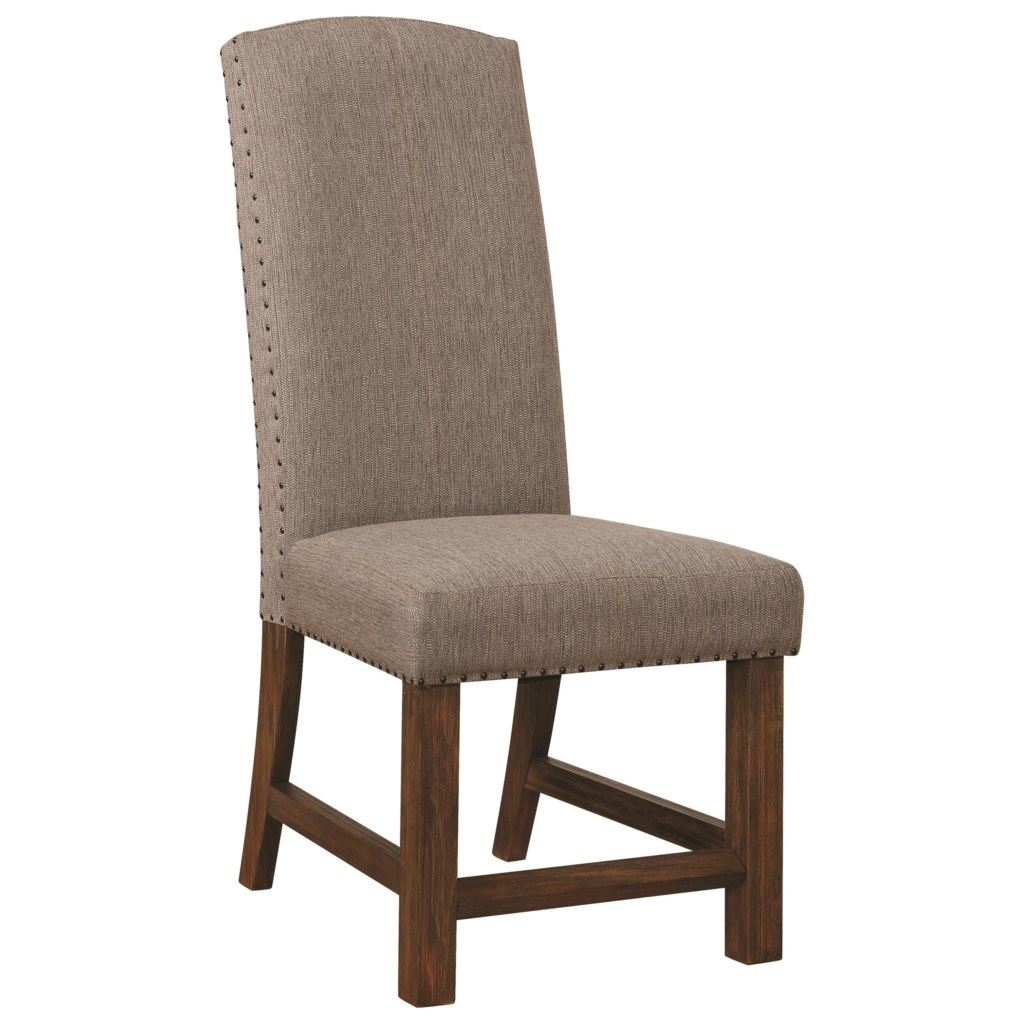 Scott Living Atwater Parson Chair With Nailhead Trim Value City
