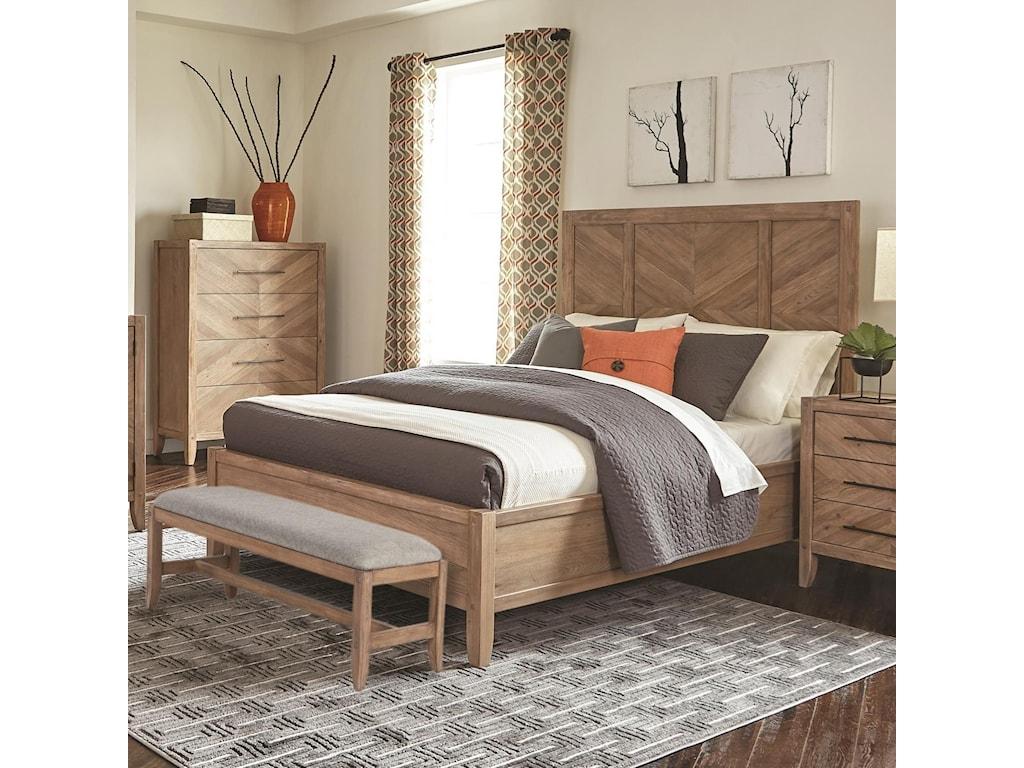 Scott Living AuburnKing Bed