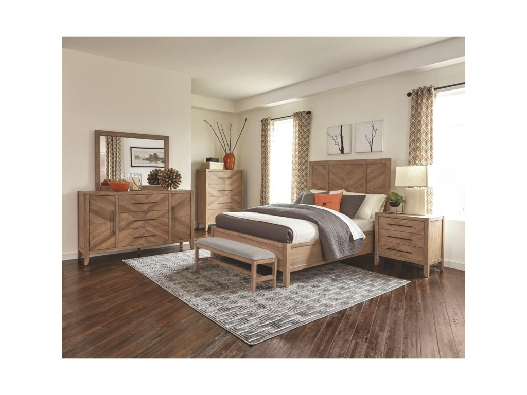 Scott Living AuburnQueen Bed