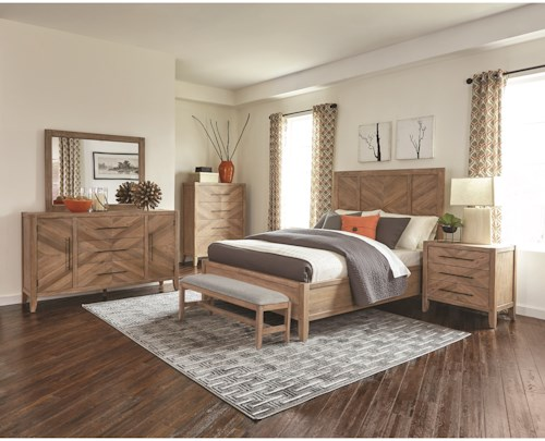 Scott Living Dace King Bedroom Group