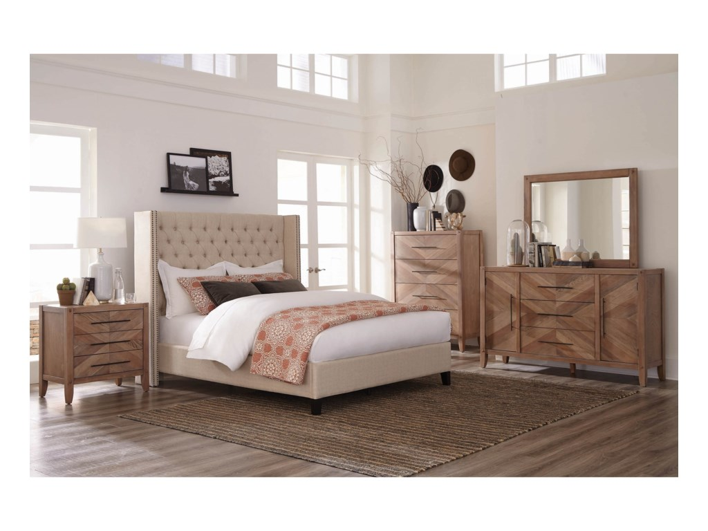Scott Living BeniciaCalifornia King Bed