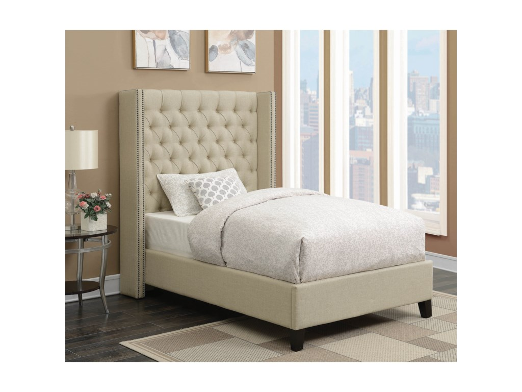 Scott Living BeniciaTwin Bed