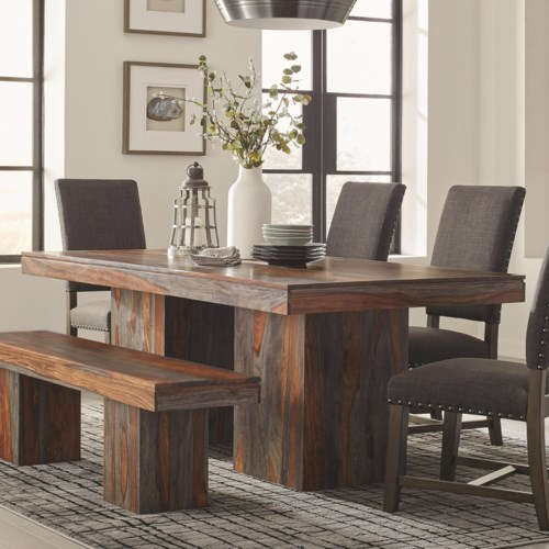 Cool Scott Living Binghamton Sheesham Rustic Dining Table In 2018 - Style Of rustic dining room table and chairs Elegant