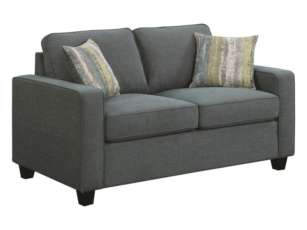 Scott Living BrownswoodLoveseat