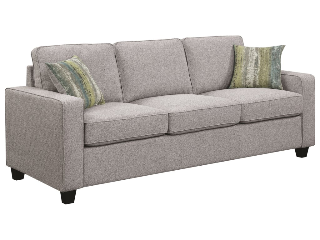 Scott Living BrownswoodSofa