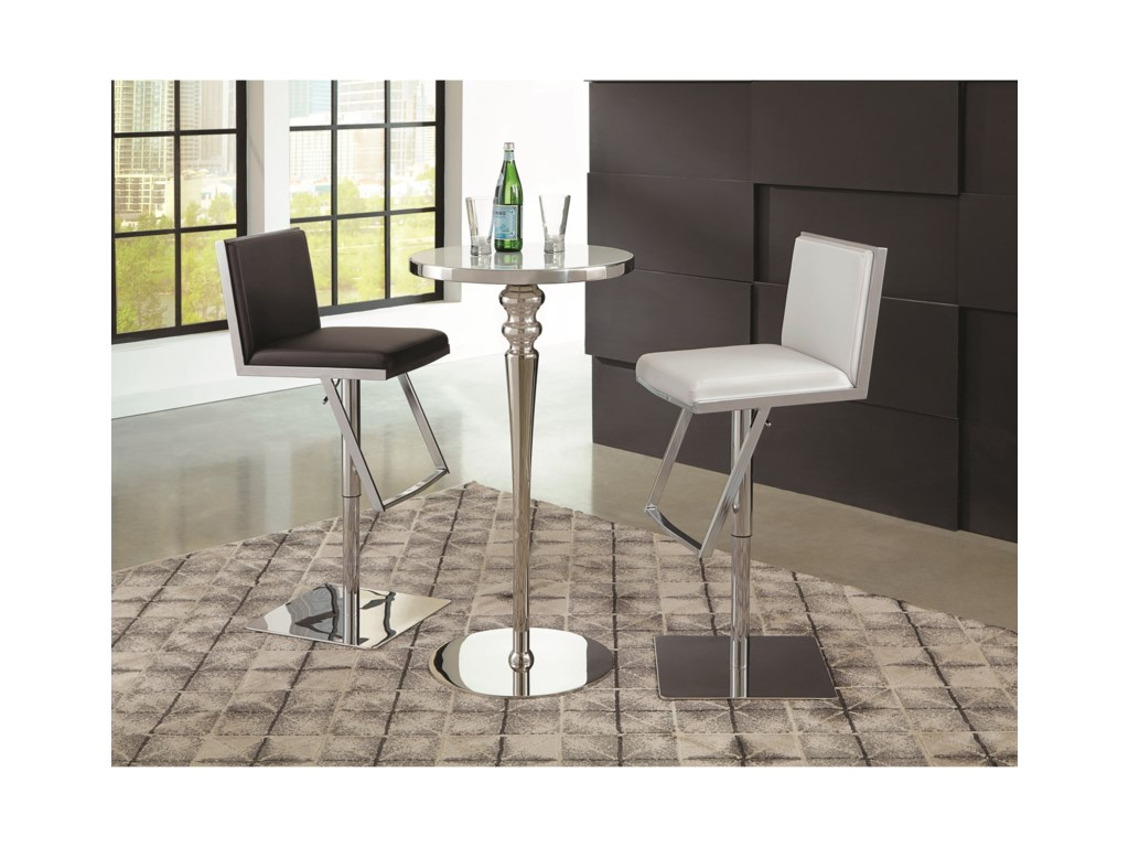 Scott Living DixonBar Table and Stool Set