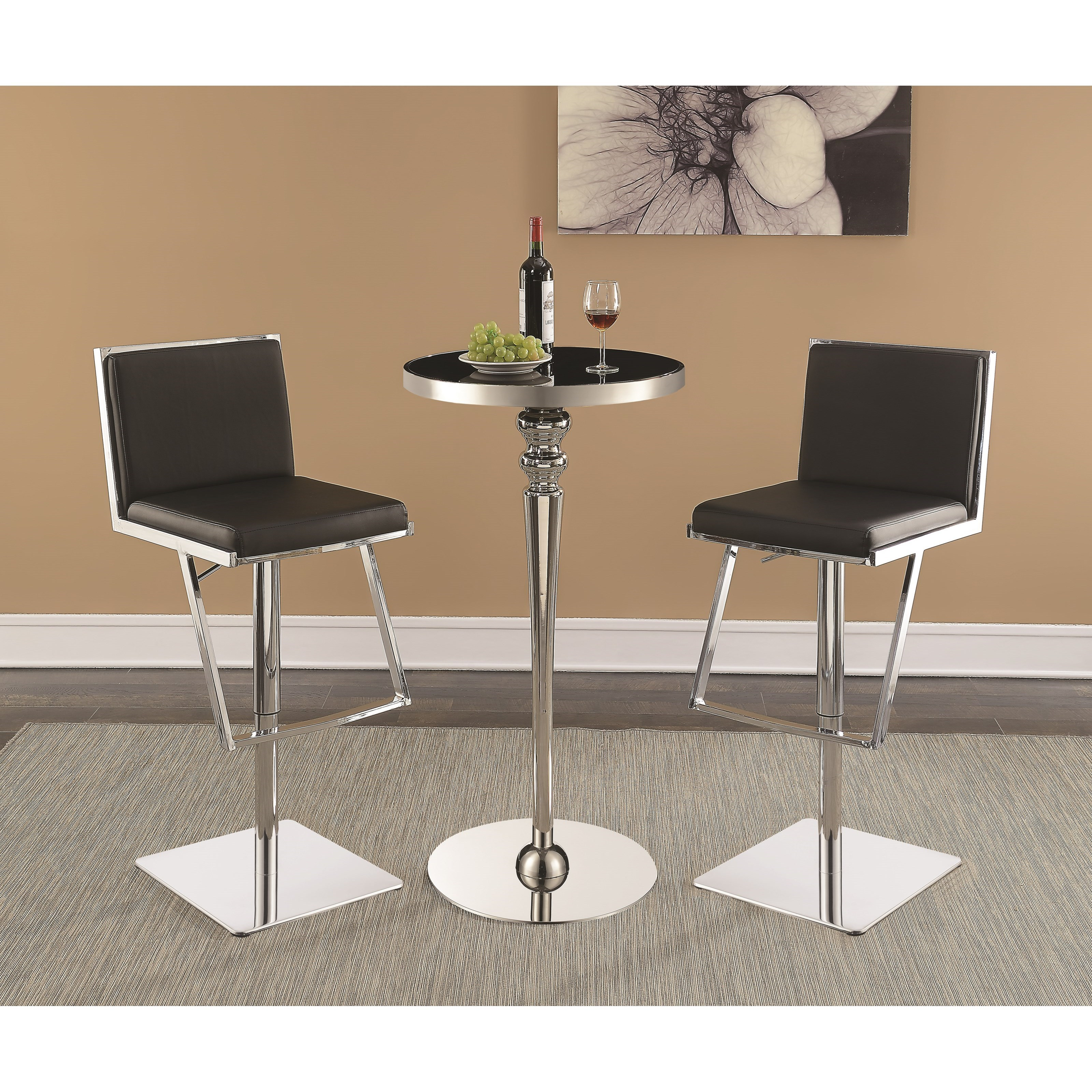 Pub Table And Stool Sets Mcgonigal Piece Pub Table Set Modern Bar