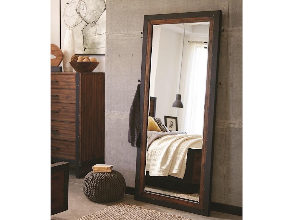 Scott Living Ellison Floor Mirror | Red Knot | Floor Mirrors