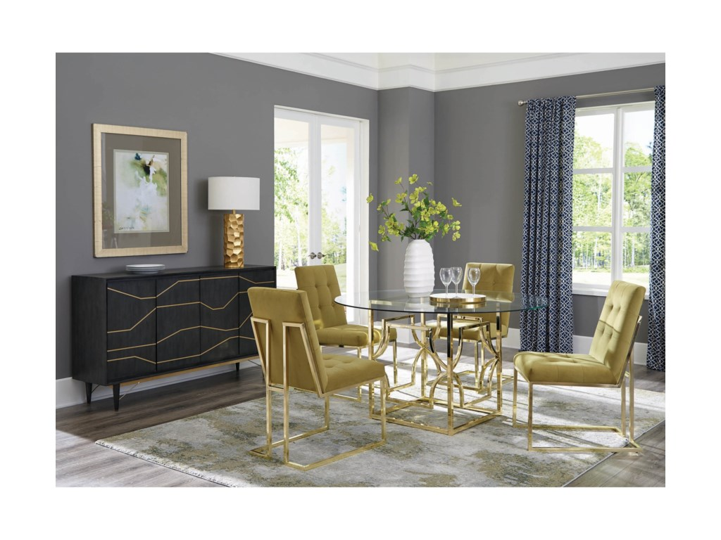 Scott Living EviannaSet of Two Dining Side Chairs