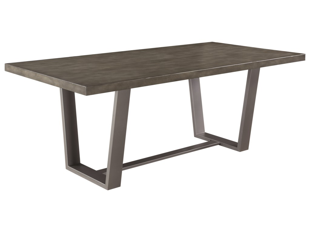 Hutchinson Modern Dining Table With Composite Concrete Top By Scott Living