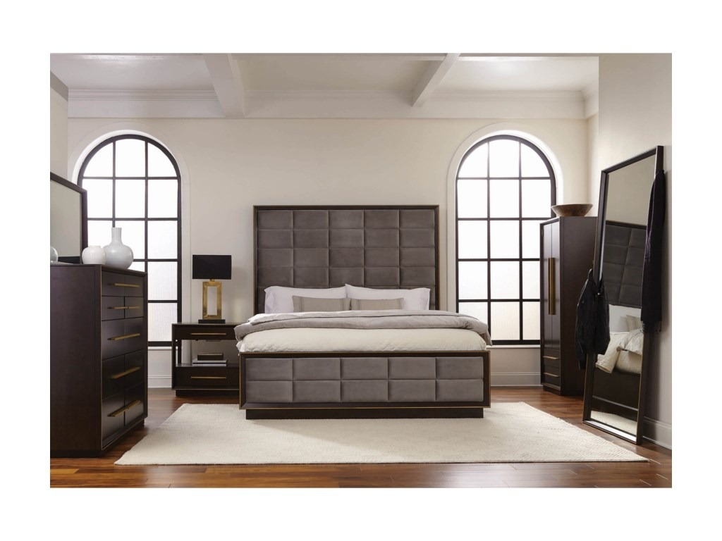 Scott Living IngersonCalifornia King Panel Bed