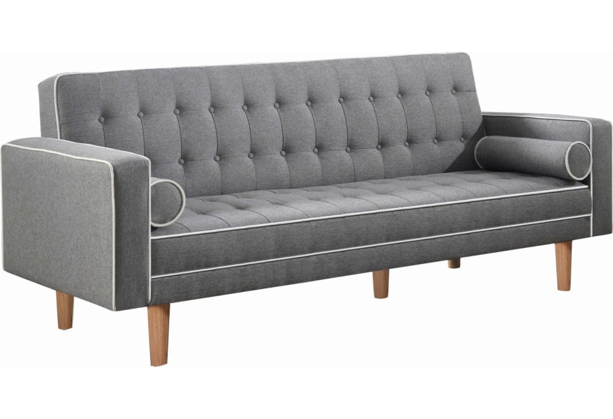 Coaster Luke Sofabed Red Knot Futons