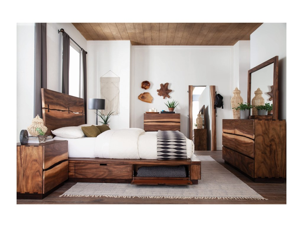 Scott Living MaddenKing Storage Bed