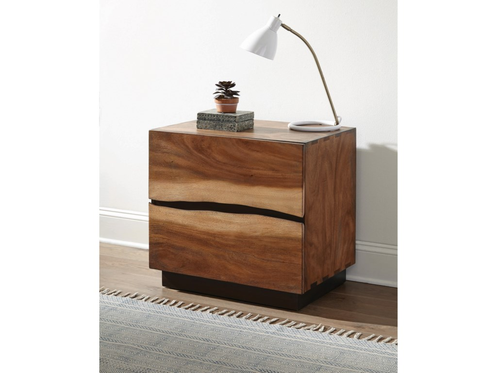 Scott Living Madden2 Drawer Nightstand