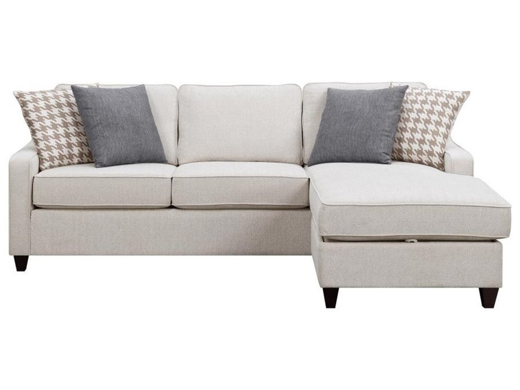 Scott Living Montgomery Modern Sectional Sofa with Reversible ...