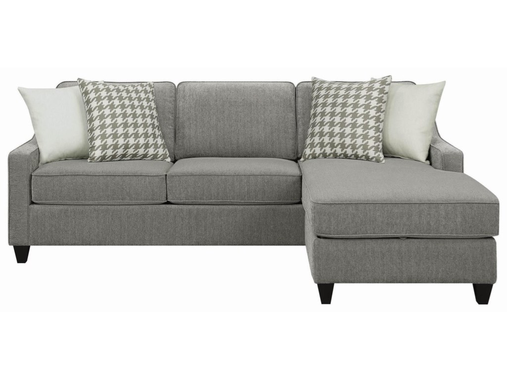 Scott Living Montgomery Modern Sectional Sofa with ...