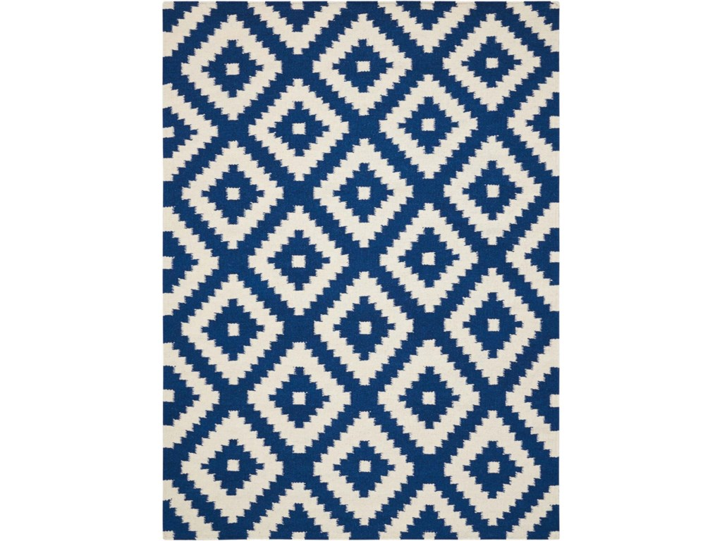 Scott Living Rugs7' x 10' Blue Rug