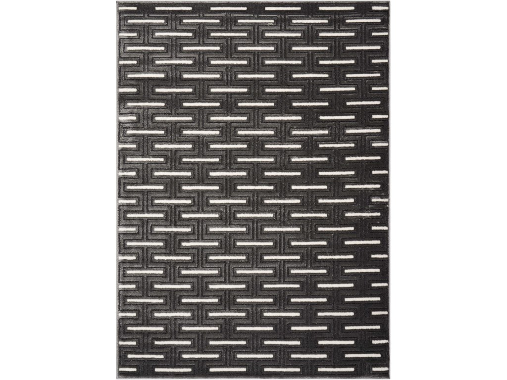 Scott Living Rugs5' x 7' Charcoal Rug