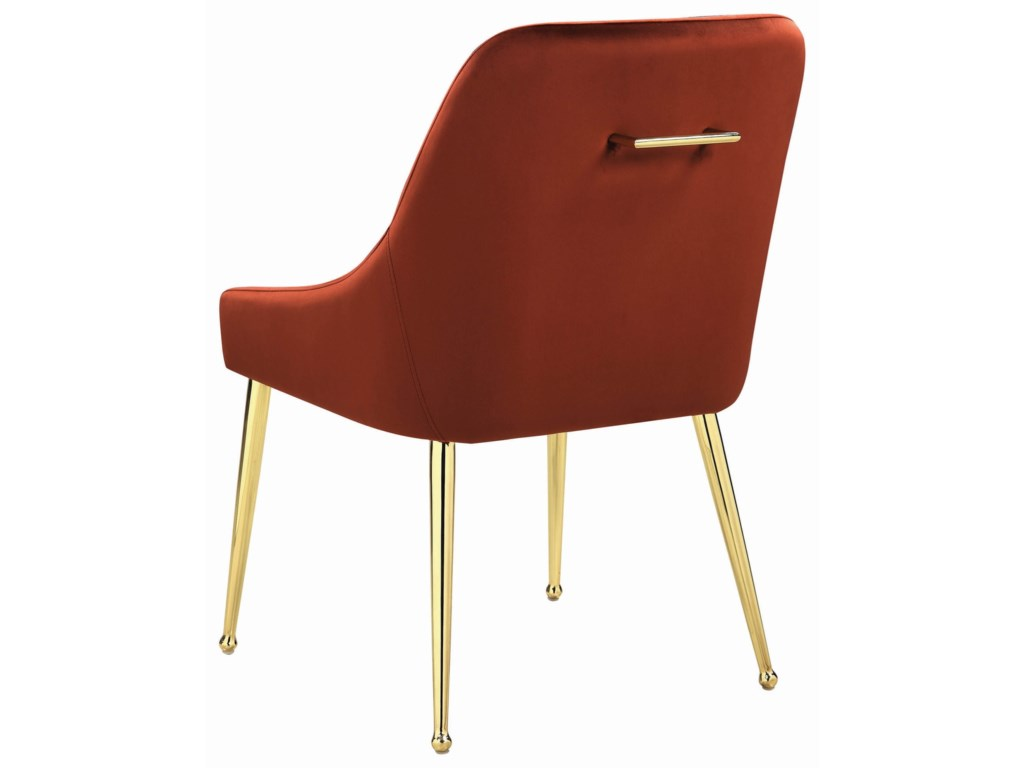 Coaster SteeleSide Chair, Spicy Henna