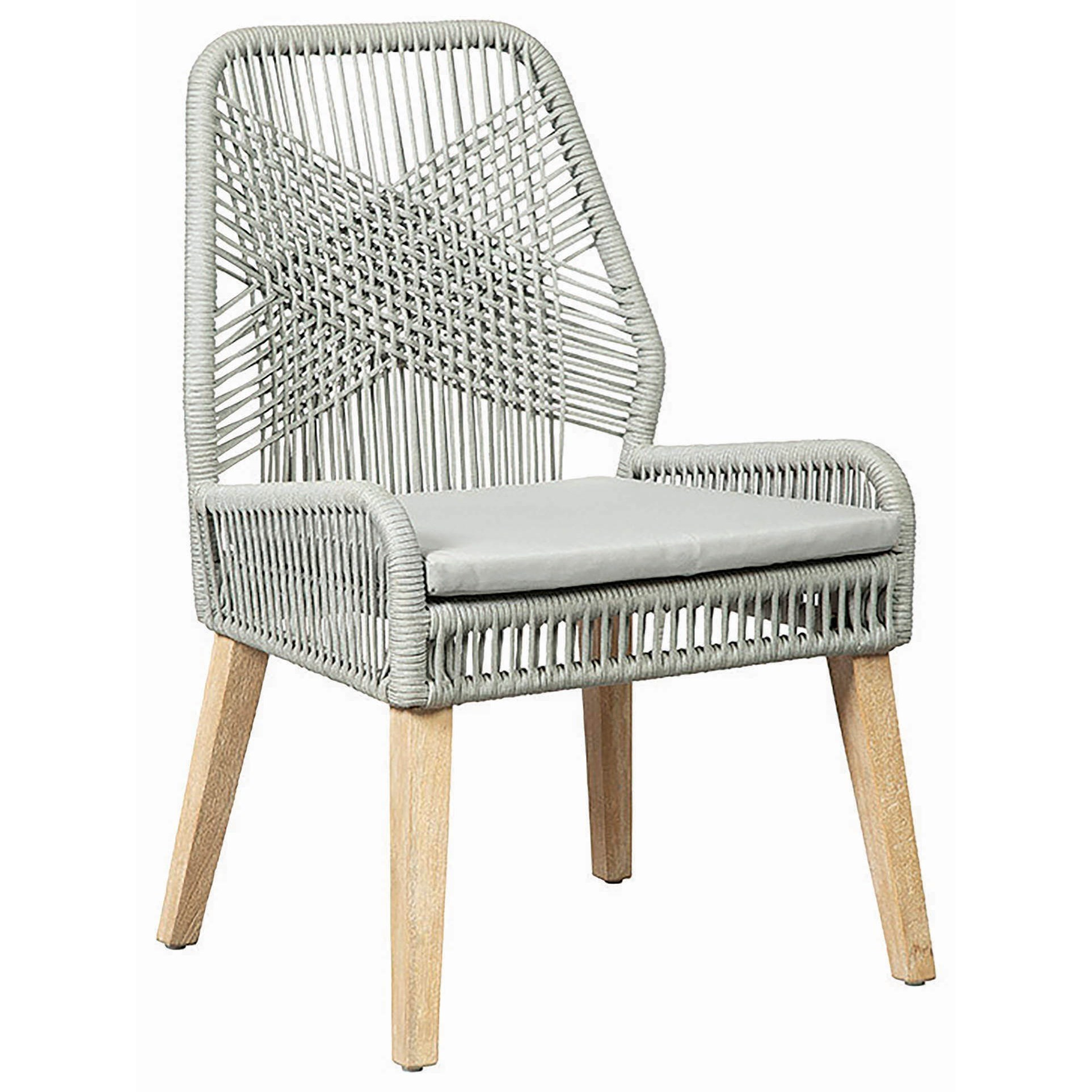Beau Sundance Side Chair With Cushioned Seat By Scott Living