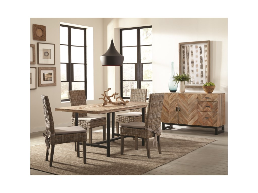 Scott Living Thompson5 Piece Dining Package