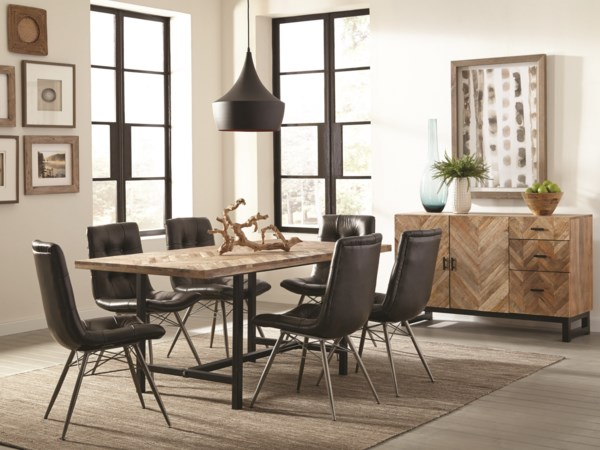Rustic Dining Room Group