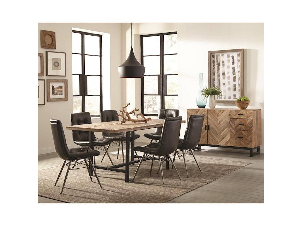 Scott Living ThompsonRustic Dining Room Group