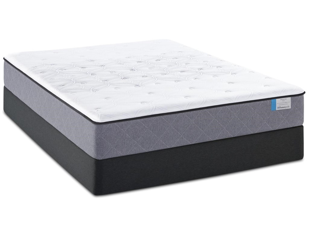 Sealy A1 Cushion Firm PP 2015Cal King Cushion Firm Mattress Set