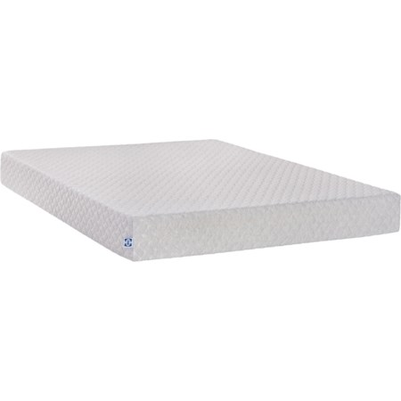 "King 8"" Med Firm Memory Foam Mattress"