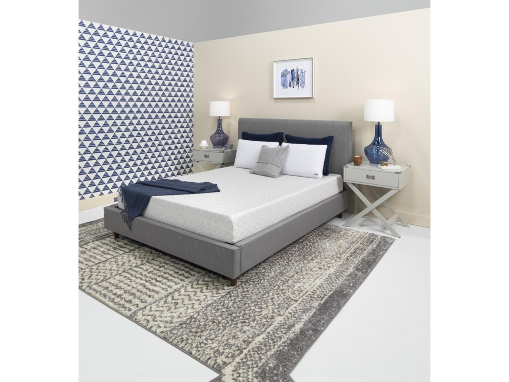 Sealy Essential 8King Size Bed N Box Mattress