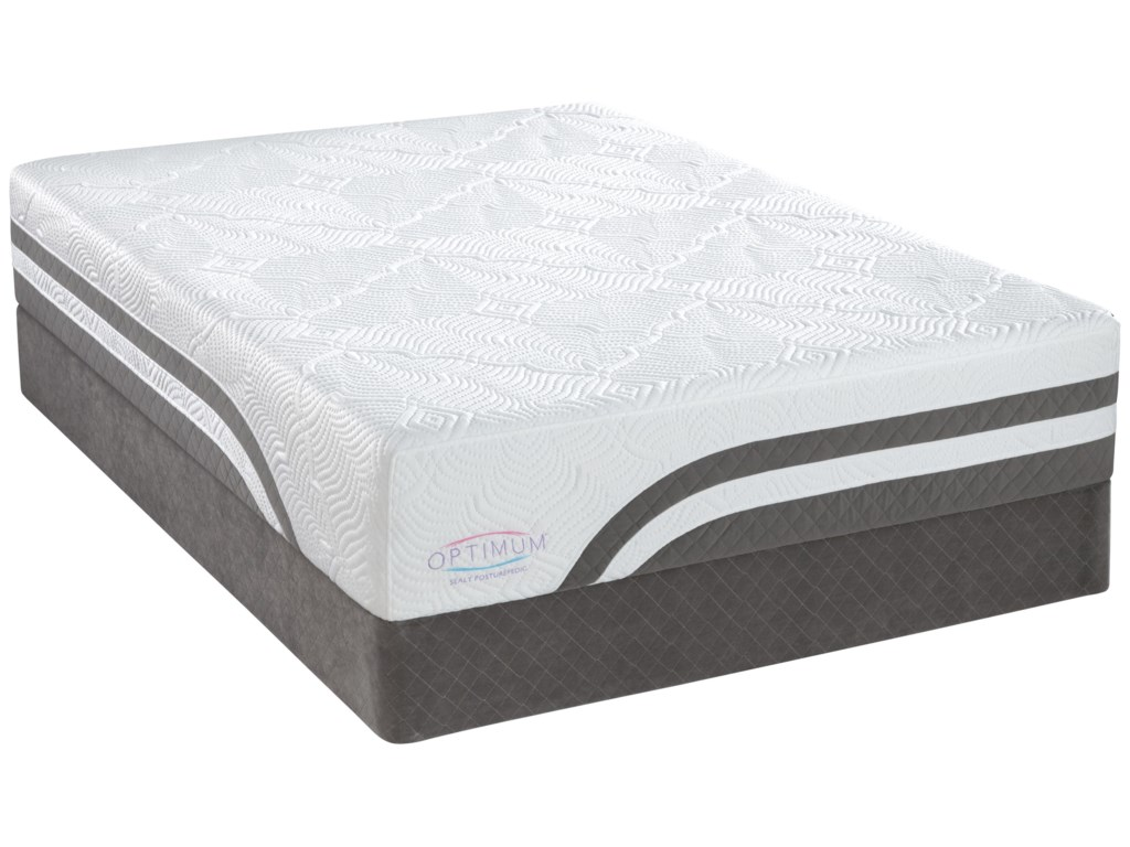 Sealy Optimum Latex Level 4Twin XL Latex Mattress Set