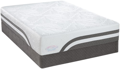 Sealy Optimum Latex Level 4 Full Latex Mattress and Reflexion 4 Adjustable Base