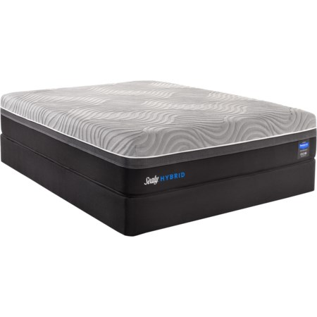 Twin XL Hybrid Mattress Set