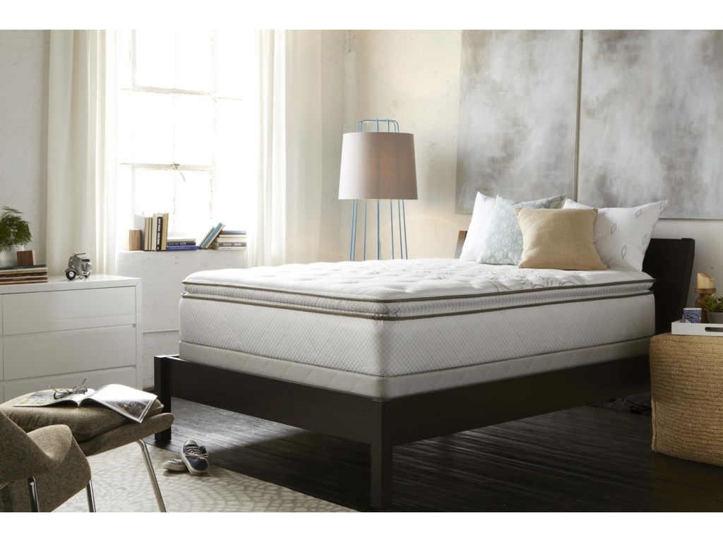 Sealy Posturepedic Classic CarrboroQueen Carrboro Plush Euro Top Mattress