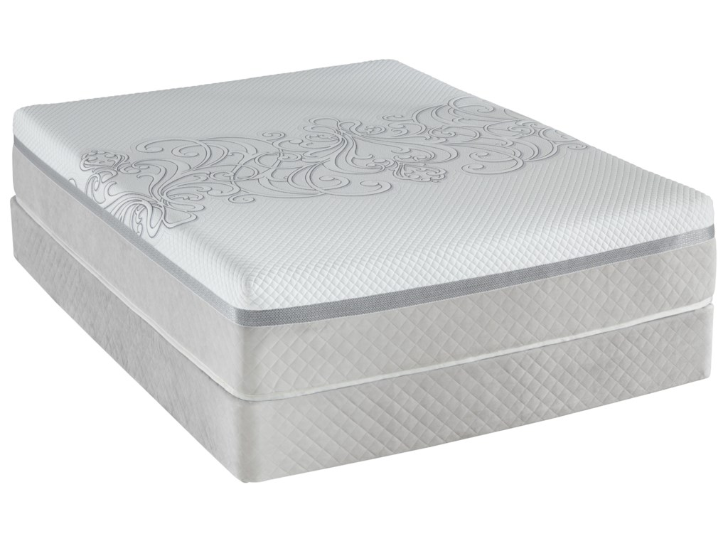 Sealy Posturepedic Hybrid Encourage H4Queen Plush Tight Top Mattress Set