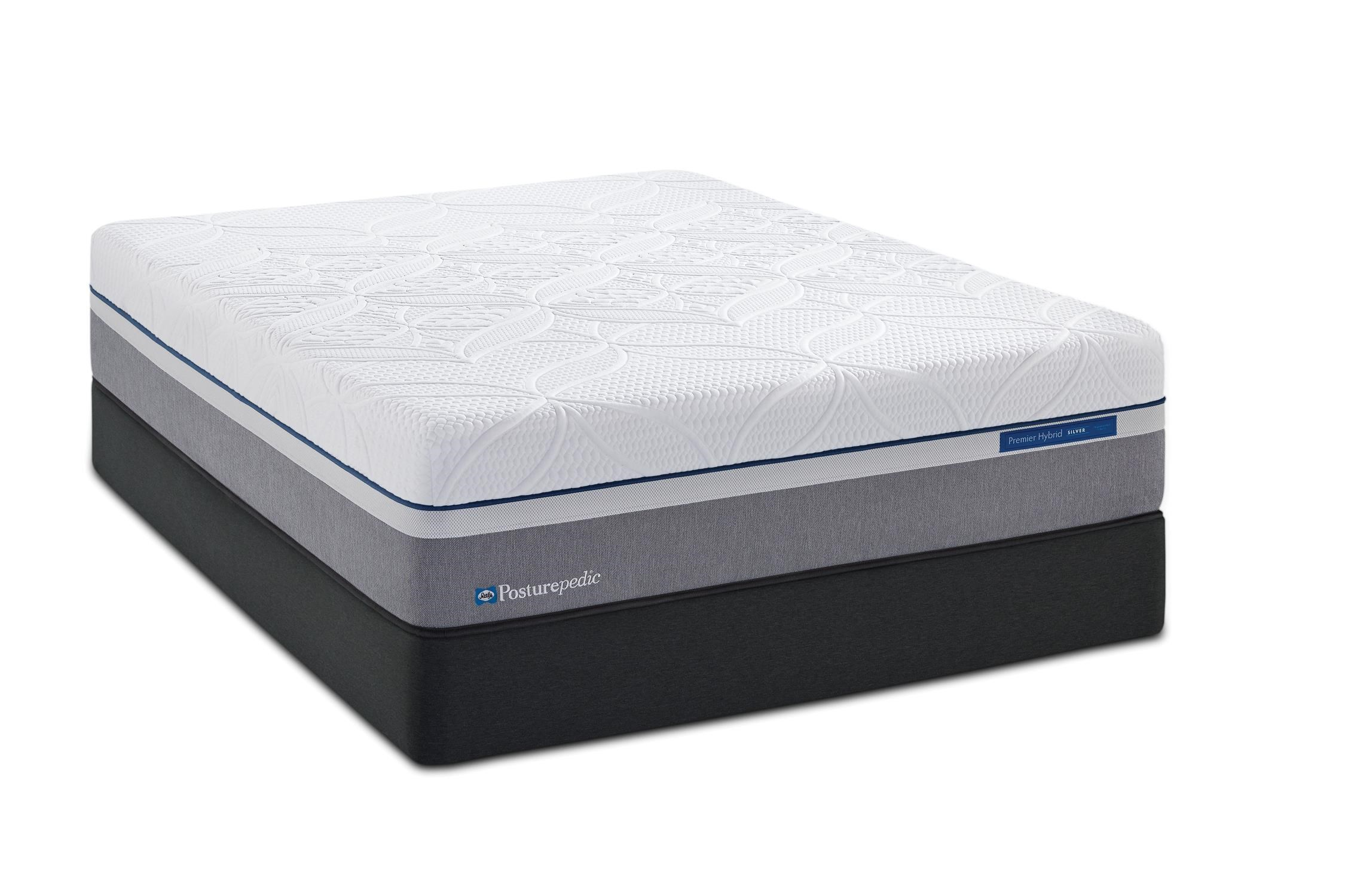 Sealy Cobalt Firm King 11 1 2 Firm Hybrid Mattress And Reflexion