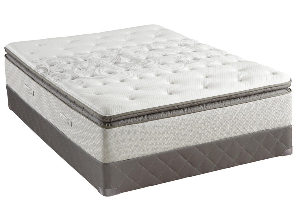 Sealy Posturepedic Gel Oak KnollQueen Oak Knoll Firm Euro PT Mattress