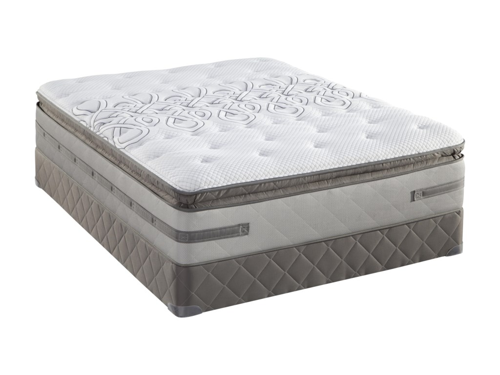 Sealy Posturepedic Platinum Series Full Firm Euro Pillow Top Mattress