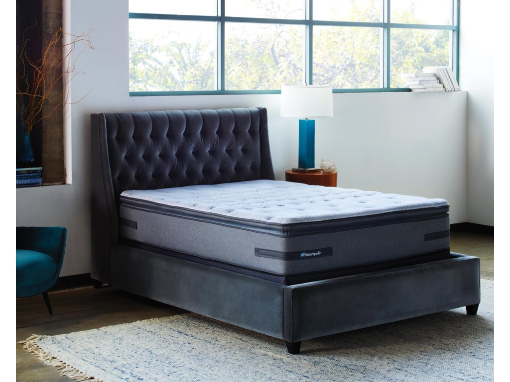 Sealy Posturepedic Plus B2King CF EPT Mattress Adj Set
