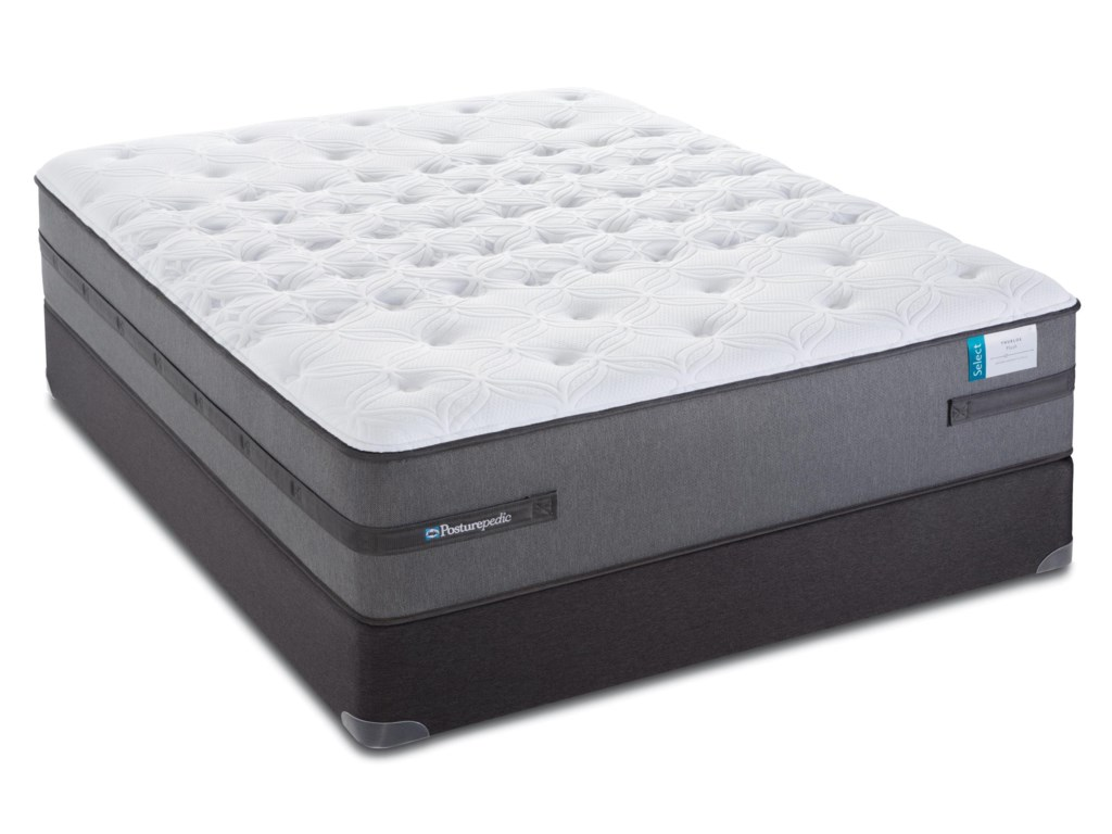Sealy Posturepedic Select Q2Twin Plush Mattress Set, Adj