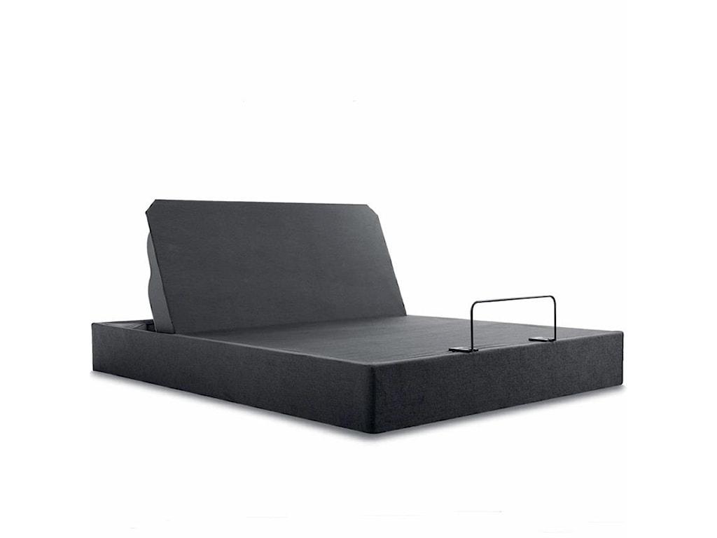 Sealy Posturepedic Select Q4Full Cushion Firm Mattress Adj Set