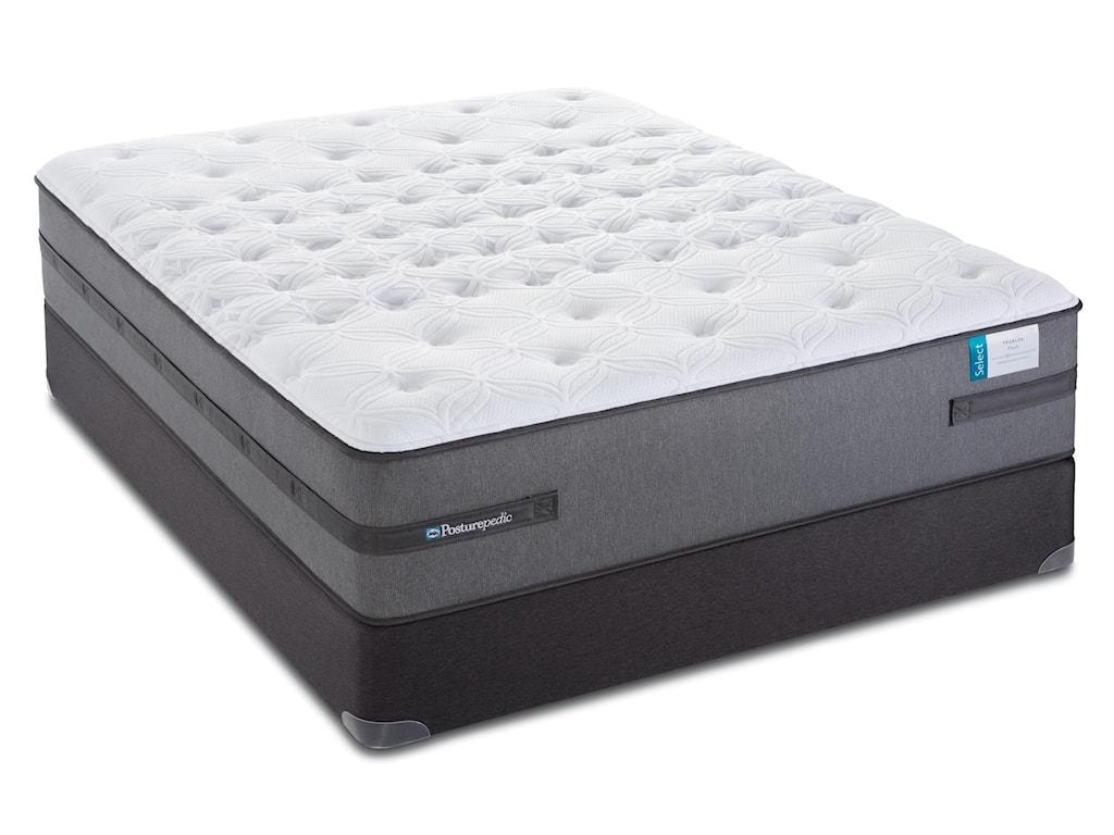 Sealy Posturepedic Select Q4Full Plush Mattress Set, Adj