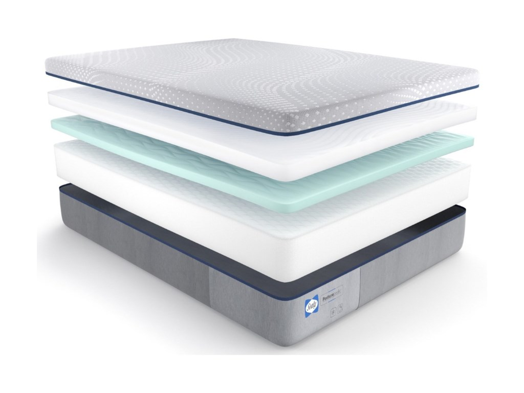 Sealy PPF5 Posturpedic Foam FirmCal King 13