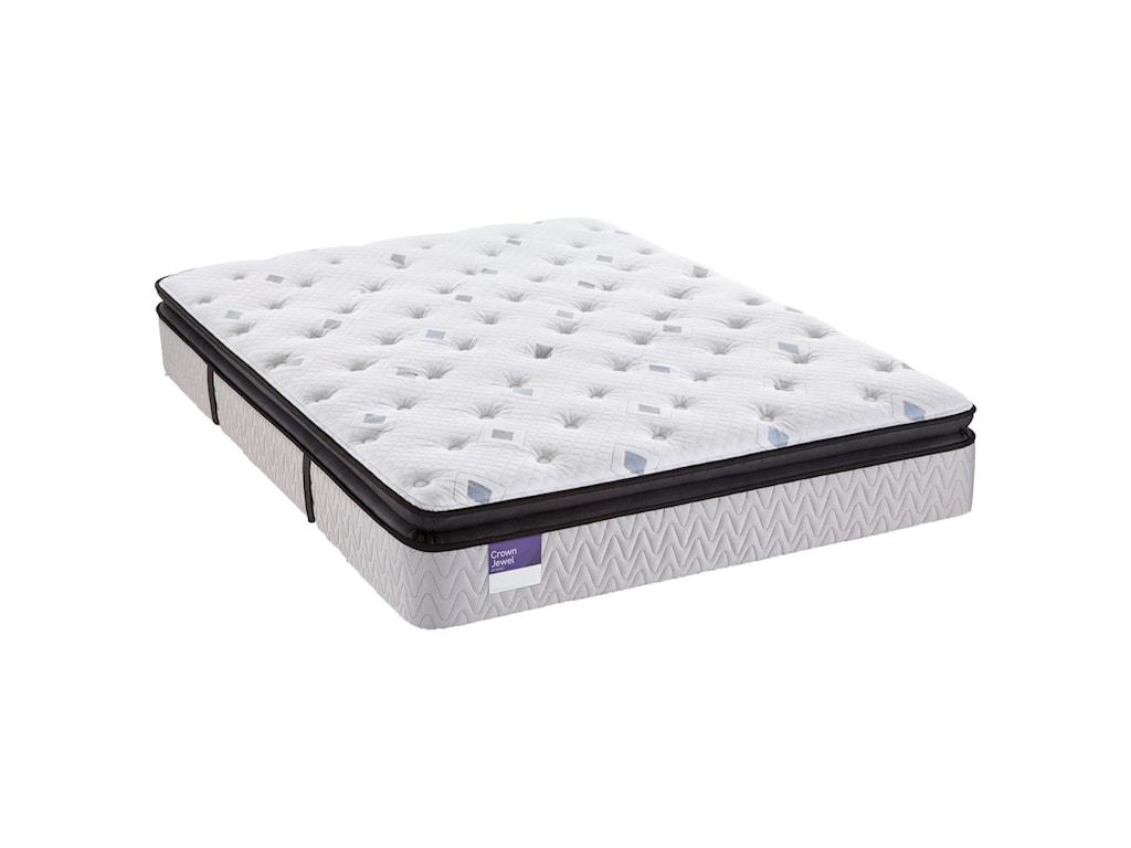 S4 Pillow Top Plush Queen 14 Mattress By Sealy