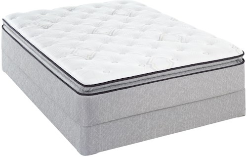 Sealy Sealy Brand Level 4 Queen Plush EPT Mattress and Foundation