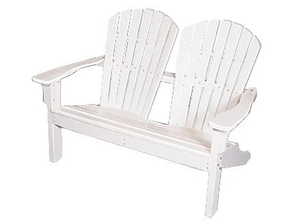 Seaside Casual AdirondackShellback Love Seat