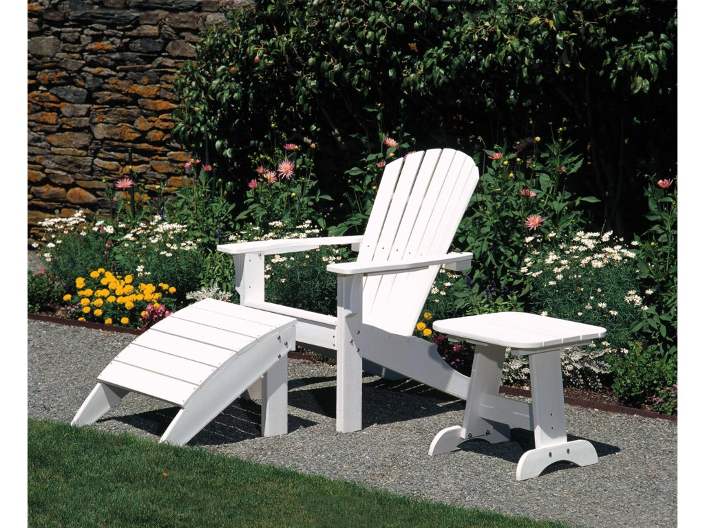 Seaside Casual AdirondackFoot Stool