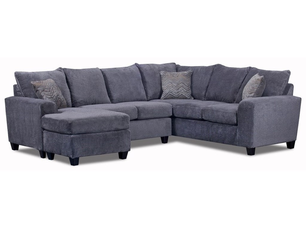 Seminole Furniture 2355 Seat Sectional