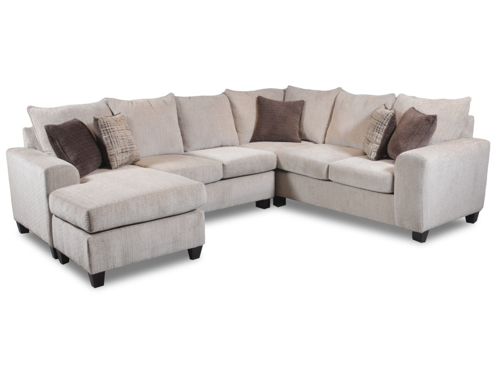 Seminole Furniture 2375 Seat Sectional