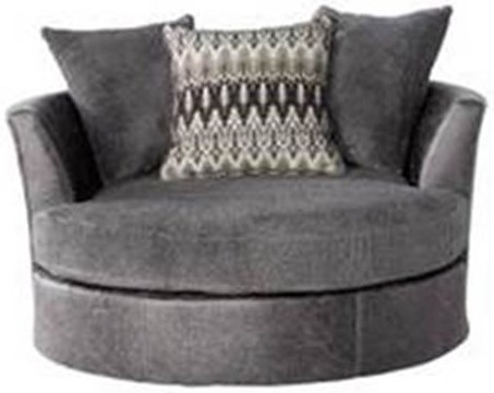 Seminole Furniture 3250 Contemporary Barrel Chair with Flared Back